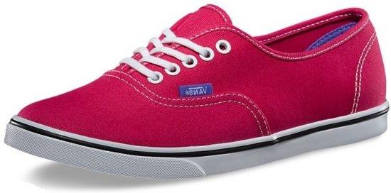 Rood Junior unisex Maat Vans Lo 36 Sneakers Authentic Pro nwYHOzq