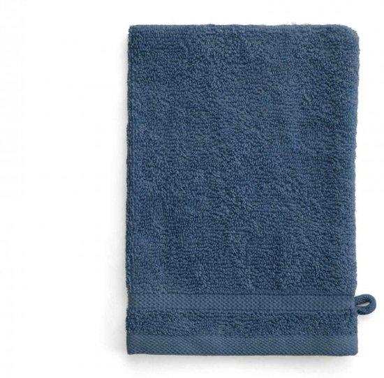 Byrklund Washand 16x21cm Blauw - Set van 12