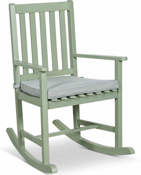 Spiksplinternieuw bol.com | Lanterfant® Schommelstoel Noor – Met zitkussen - Voor JI-18