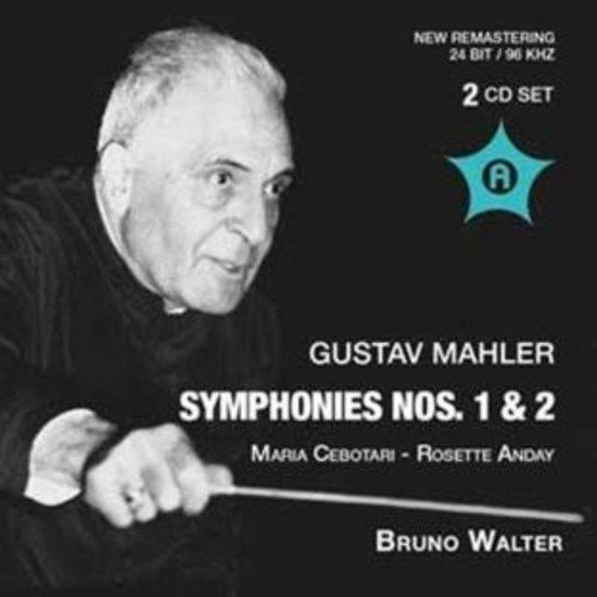Mahler: Symphonies Nos.1 & 2 (Ny 19