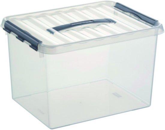 Sunware Opbergbox 22 TR - 400 mm x 300 mm x 260 mm - 22L - Transparant