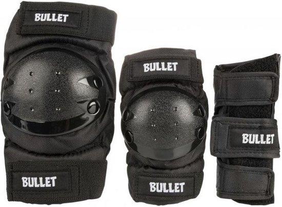Bullet Combo Beschermingsset - Zwart (9 tot 12 jaar)