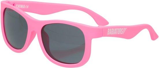 ea9747ff8aa3ce Babiators UV zonnebril Peuter Navigators - Think Pink Roze - Maat 3-5 jaar