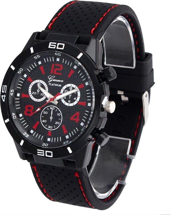 Geneva Sport Horloge - Rood