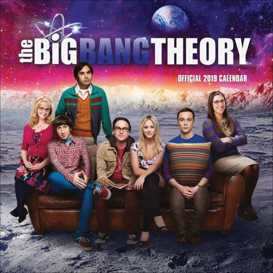 Bolcom Officiële The Big Bang Theory Kalender 2019