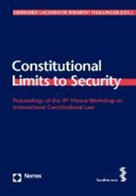 Constitutional Limits to Security