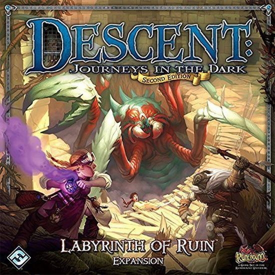 Descent Second Edition - Labyrinth of Ruin Expansion