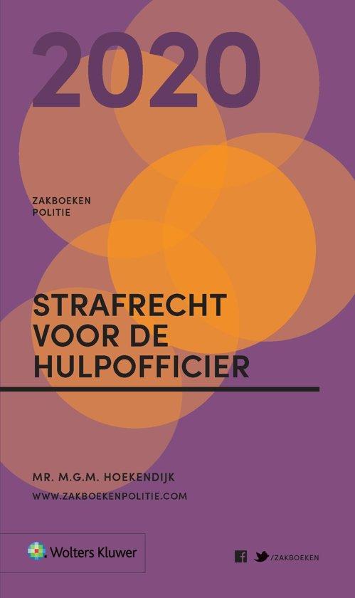 Zakboeken Politie - Strafrecht voor de Hulpofficier