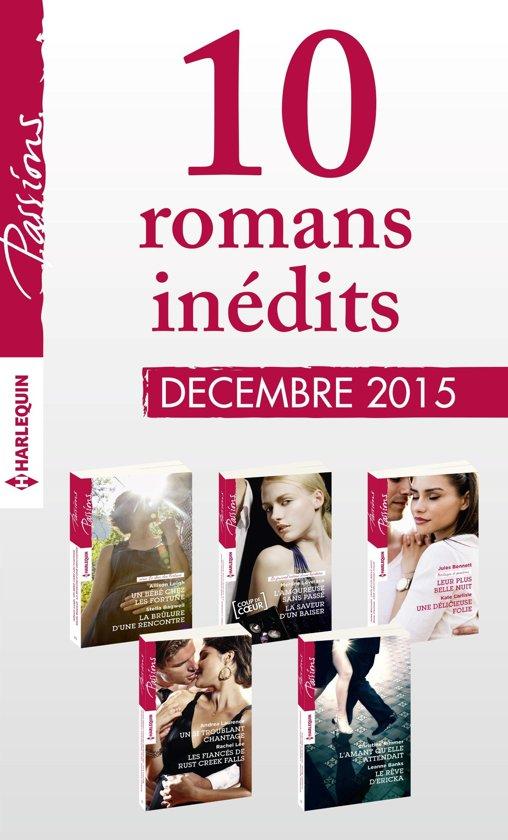 10 romans inédits Passions (n°570 à 574 - décembre 2015)