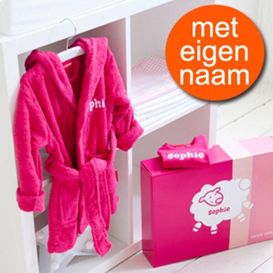 Uitzonderlijk bol.com   Kraamcadeau badjas 1-2 jaar, t-shirt lange mouw en  HP-17