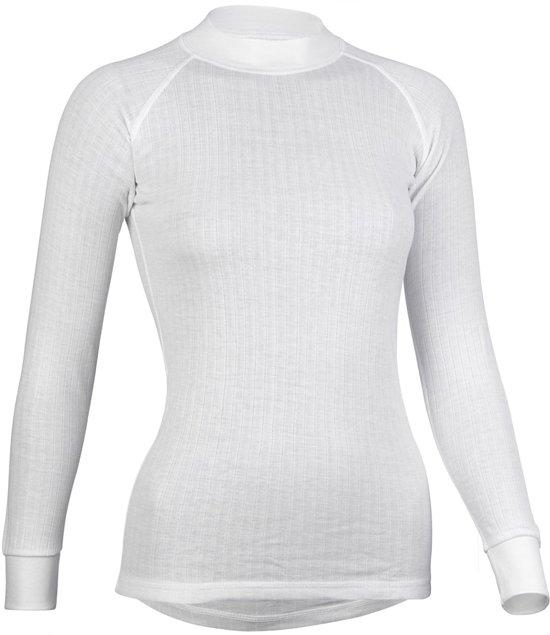 Avento Basic Thermo - Sportshirt - Dames - M - Wit