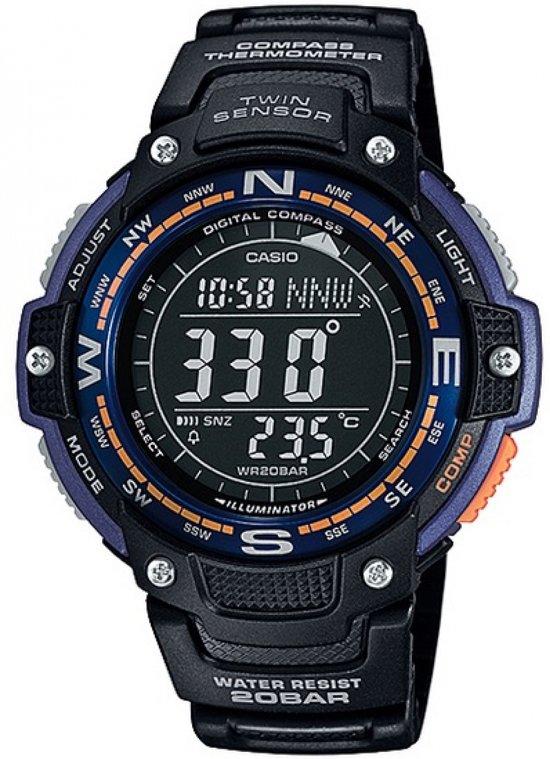 Casio SGW-100-2BER - Horloge - 48 mm - Kunststof - Zwart