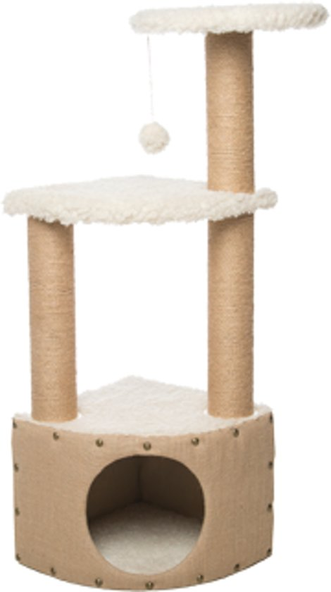 "Gor Pets Cat Scratcher EasyFix ""The Snug"", krabmeubel, 37x37x106cm"
