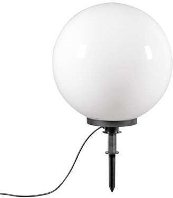QAZQA Ball 50 Spike - Prikspot buitenlamp - 1 lichts - 500 mm - wit