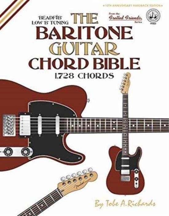 Bol The Baritone Guitar Chord Bible Low B Tuning 1728