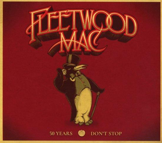 CD cover van 50 Years - Dont Stop (3CD) (Deluxe Edition) van Fleetwood Mac