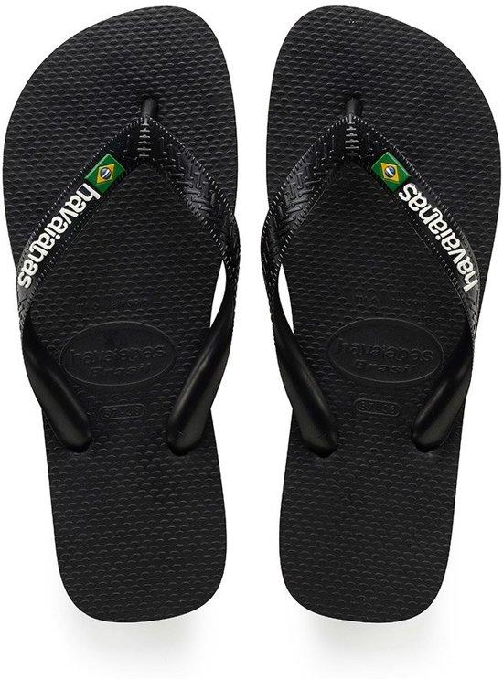 Brasil Unisex Slippers white Black Logo Havaianas gxZwtSqdBg