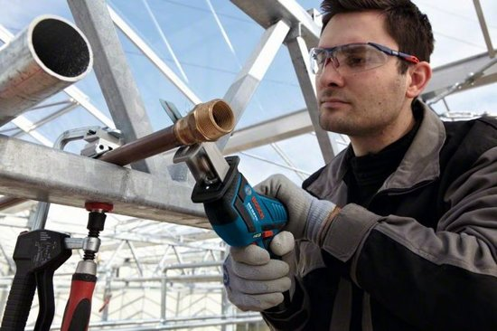 Bosch GSA 10,8 V-LI Professional Blau Akku-Säbelsäge