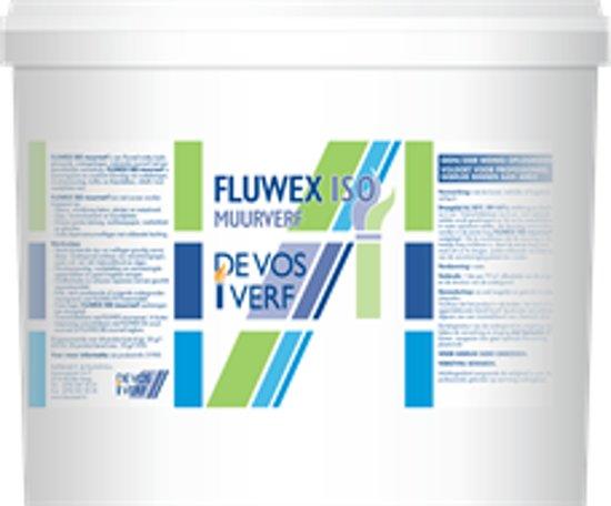 FLUWEX ISO MUURVERF MAT WIT 5 LT