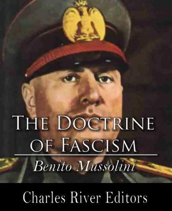 Boek cover The Doctrine of Fascism van Benito Mussolini (Onbekend)