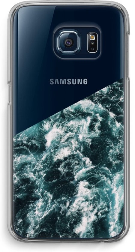 Samsung Galaxy S6 Edge Transparant Hoesje (Soft) - Zee golf