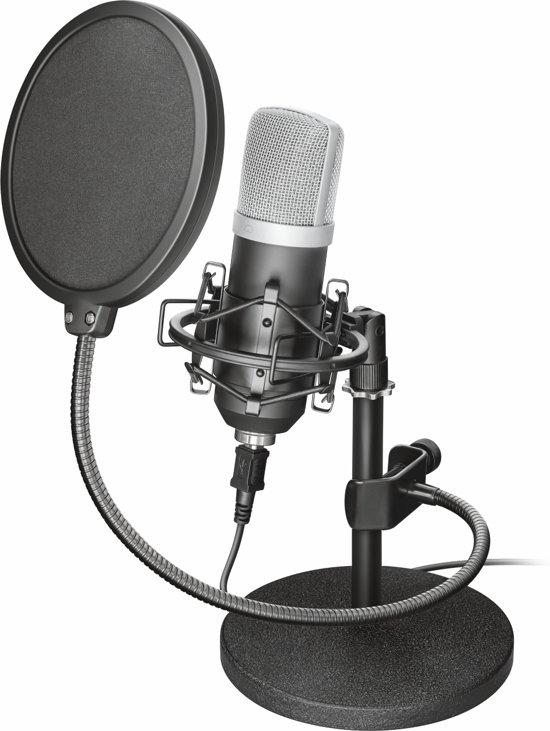 Trust GXT 252 Emita - USB Studio Microfoon met Popfilter - voor Windows