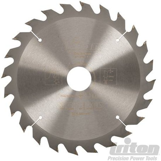 Triton Cirkelzaagblad 190 x 30 mm, 24T