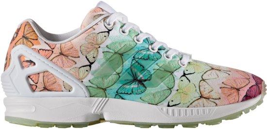 adidas zx flux groen dames