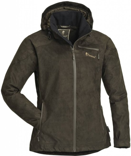 Pinewood Grouse Suede Jacket - Dames