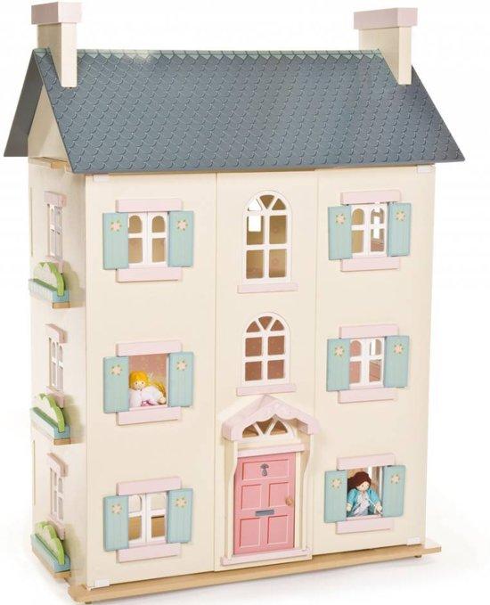 Le Toy Van Poppenhuis Cherry Tree Hall 4 verdiepingen - Hout