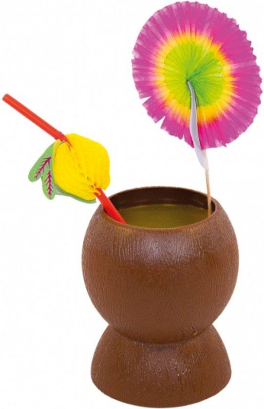 Kokosnoot beker zonder deksel