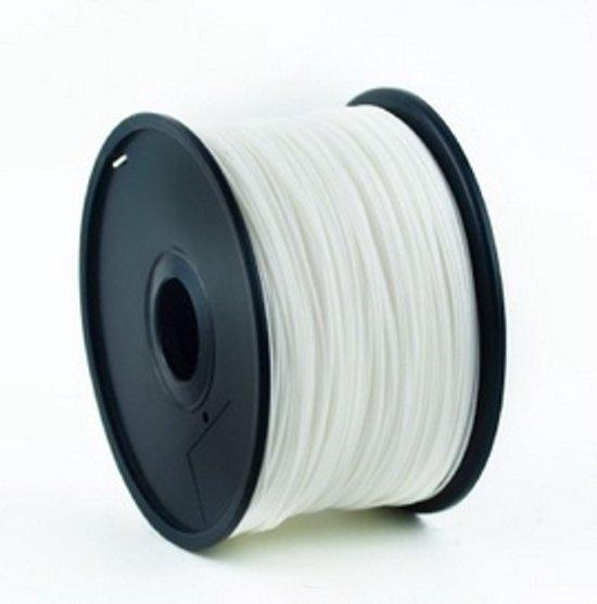 Gembird3 3DP-PLA3-01-W - Filament PLA, 3 mm, wit