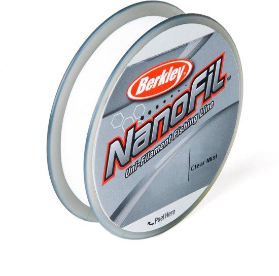 Berkley NanoFil Clear Mist - Gevlochten Vislijn - 0.22 mm - 14.7 kg - 270m