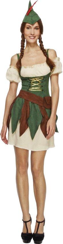 Mooie Carnavalskleding Dames.Bol Com Sexy Robin Hood Dames Pakje Helden Kostuum Maat Xs
