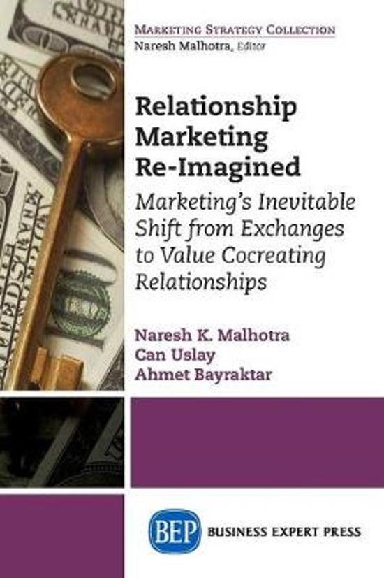 Boek cover Relationship Marketing Re-Imagined van Dr Naresh K Malhotra (Onbekend)