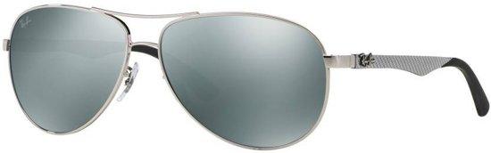 1f80194339 Ray-Ban RB8313 003 40 - Carbon Fibre - zonnebril - Zilver-Zwart