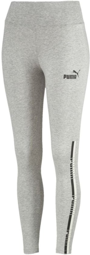 cd910d23f39 PUMA Tape Leggings Sportlegging Dames - Light Gray Heather