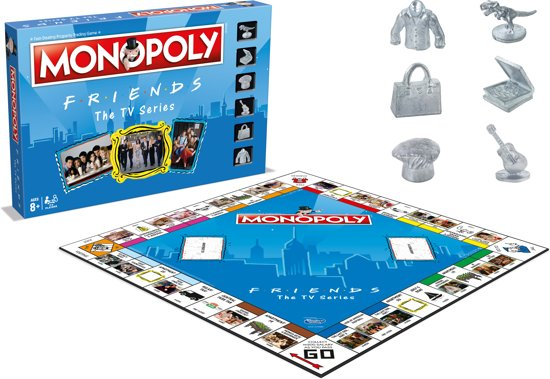 Monopoly Friends - Bordspel