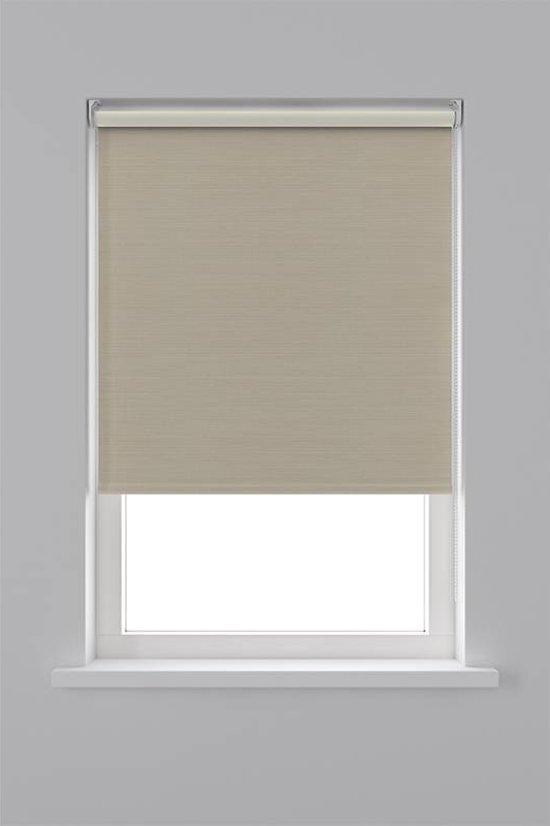 Decosol rolgordijn verduisterend - 150x190 cm - creme