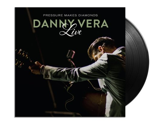 CD cover van Pressure Makes Diamonds Live (2LP+CD) van Danny Vera