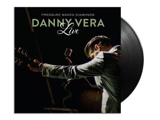 CD cover van Pressure Makes Diamonds Live (2LP+CD) van Danny Vera