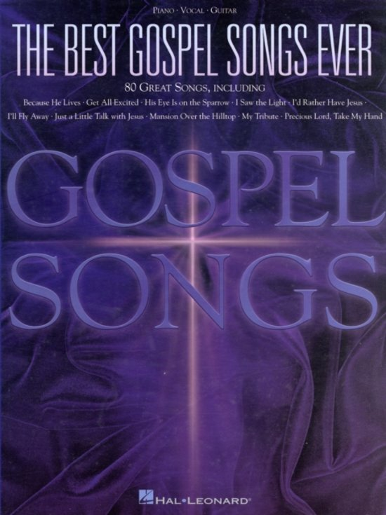 Bol The Best Gospel Songs Ever Hal Leonard 9780634006029