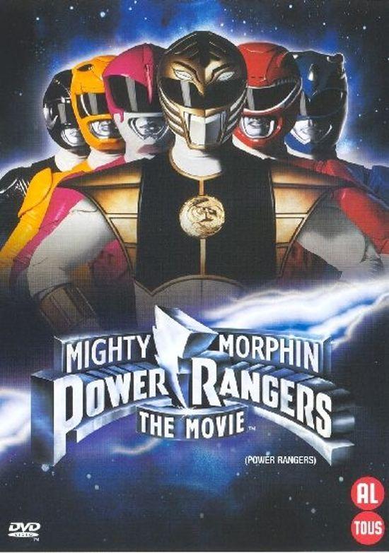 Cover van de film 'Mighty Morphin Power Rangers: The Movie'