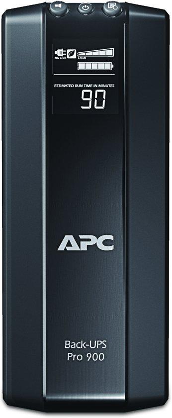 APC Back-UPS PRO BR900G-FR - Noodstroomvoeding / 6x penaarde (geschikt voor België) / USB / 900VA
