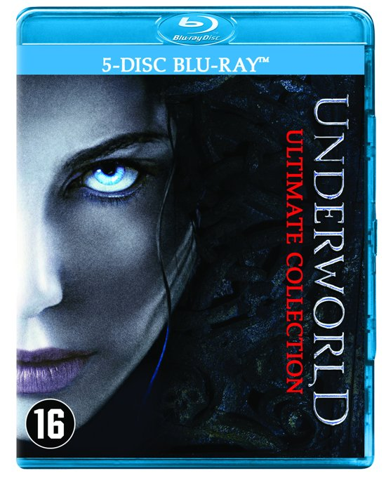DVD cover van Underworld 1 t/m 5 Ultimate Collection (Blu-ray)