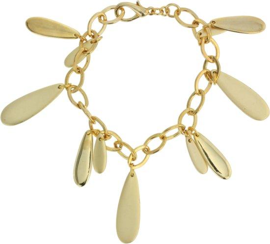 Goudkleurige armband met hangers