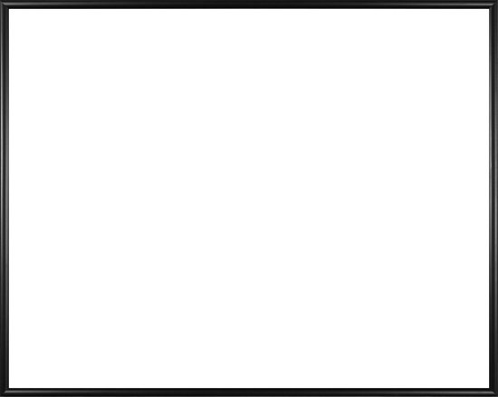Homedecoration Easy – Fotolijst – Fotomaat 31x70 cm – Kunststof – Zwart mat