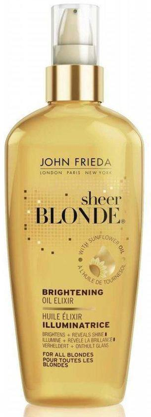 John Frieda Sheer Blonde Brightening Oil Elixir - 100 ml - Haarolie
