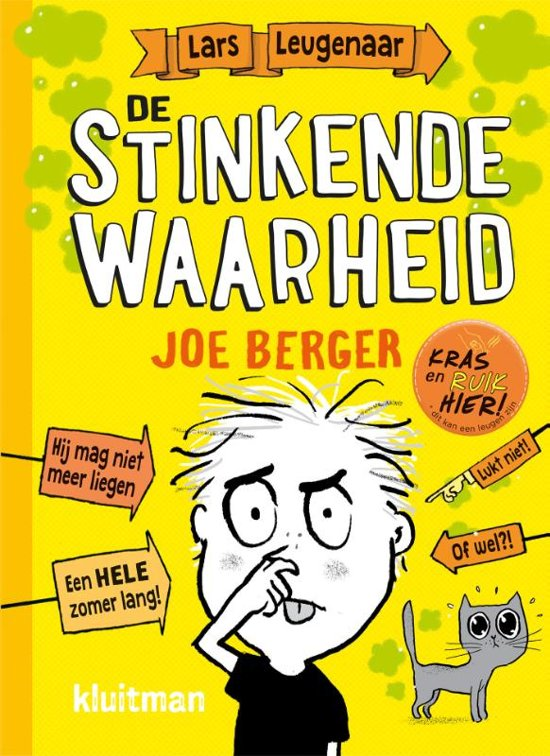 Boek cover Lars Leugenaar - De stinkende waarheid van Joe Berger (Hardcover)