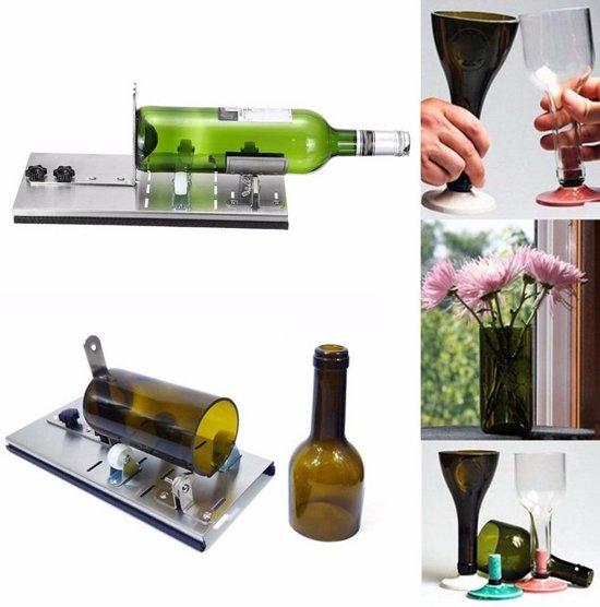 Bekend Goedkoop Flessnijder Set - zelf Fles snijden met glassnijder UP76